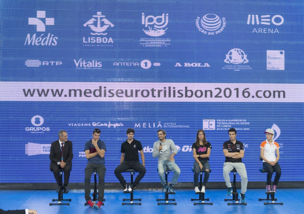 Comunicação do Médis 2016 Lisbon ETU Triathlon European Championship