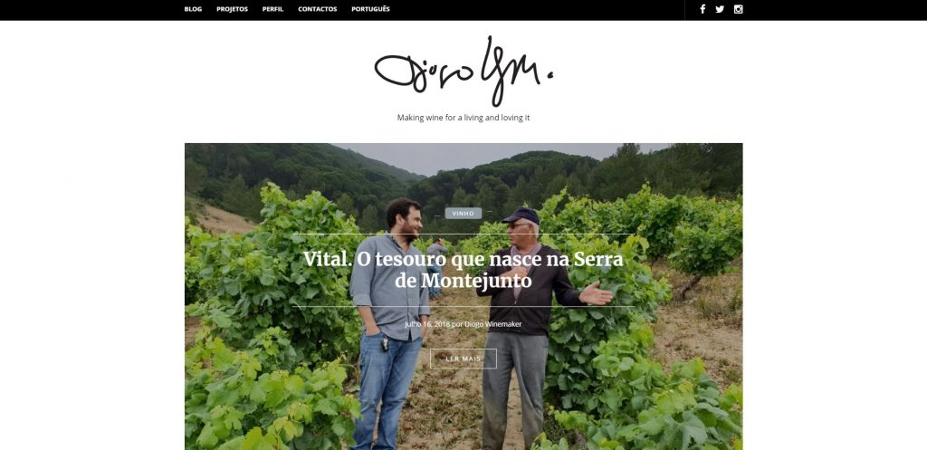 Blogue Diogo Winemaker