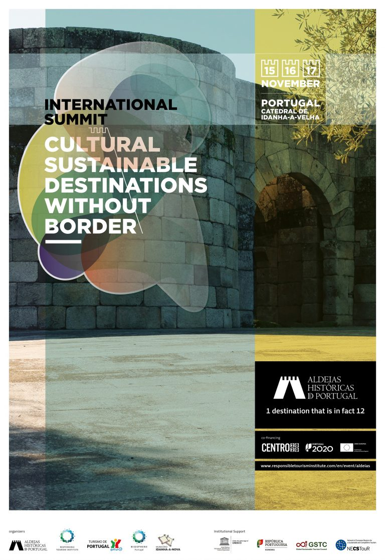 "Comunicação da ""International Summit: Cultural Sustainable Destinations without Borders"""