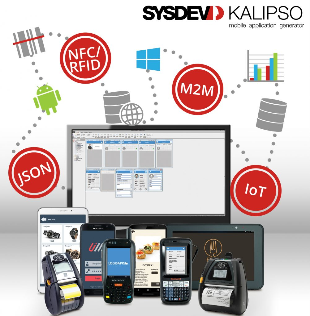 Comunicação Kalipso – Mobile Application Generator