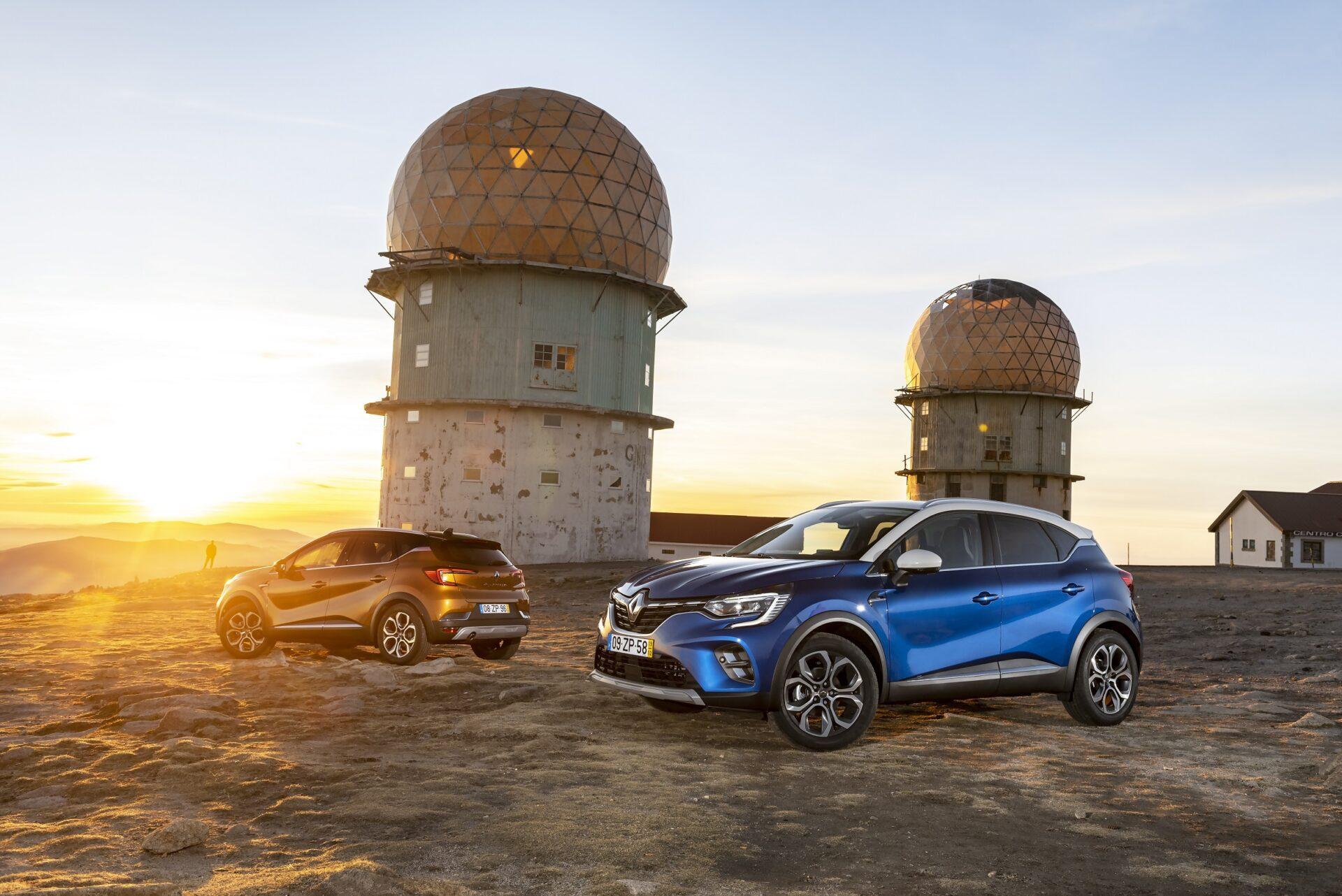 Sessão fotográfica Novo Renault CAPTUR