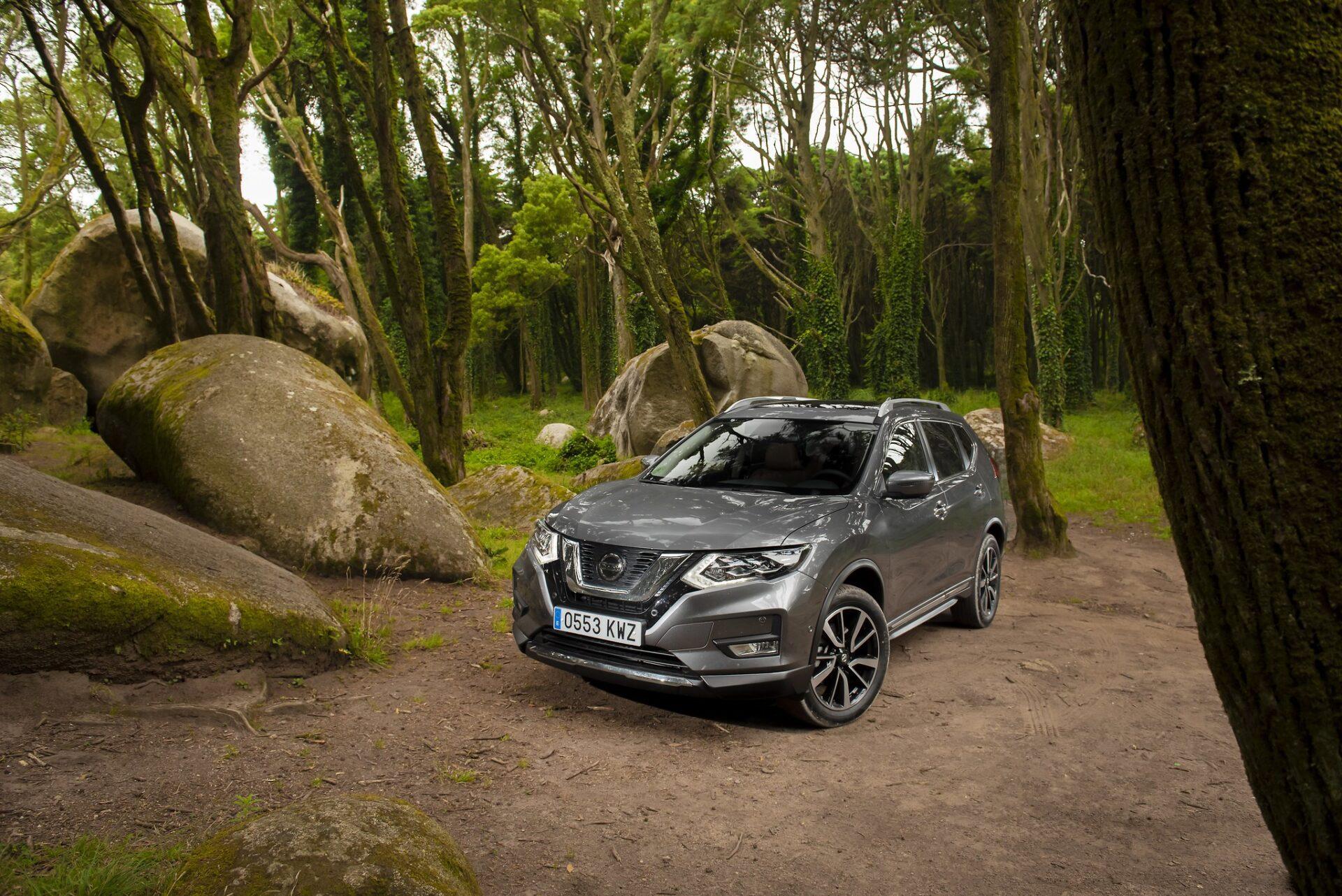 Sessão fotográfica Nissan X-Trail