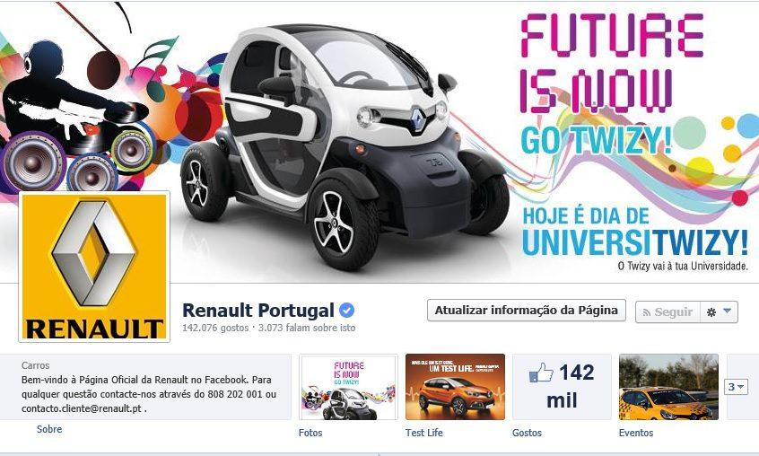 Atelier do Caractere conduz Renault à liderença das redes sociais em Portugal!