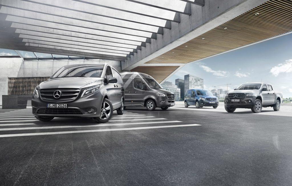 Gestão de site Mercedes-Benz Portugal Vans
