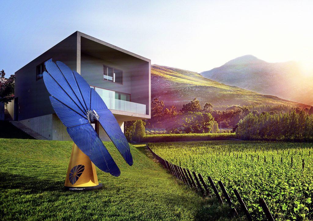 Lançamento smartflower em Portugal